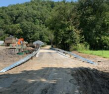 Sugar Camp Branch Road Bridge Opened in Bell County