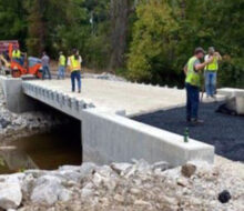 Shepherds Lane Road Bridge Opened in Owsley County